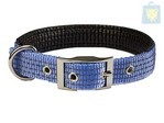 ARQUIZOO - COLLAR NYLON SMOOTH NYLON SKY BLUE (2x45 cm)