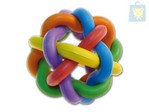 ARQUIZOO - RUBBER BALL WITH KNOTS (7cm)