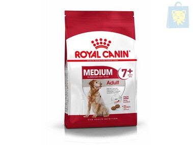 ROYAL CANIN - MEDIUM ADULT +7 (4Kg, 10Kg y 15Kg)