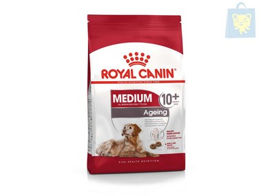 ROYAL CANIN - MEDIUM AGEING +10 (3Kg y 15Kg)