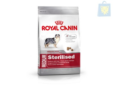 ROYAL CANIN - MEDIUM STERILISED (3Kg y 12Kg)