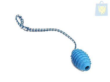 ARQUIVET - BLUE TOY WITH THERMOPLASTIC HANDLE (10cm)