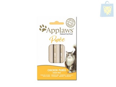 APPLAWS - SNACK PUREE CHICKEN GRAIN FREE (8units x7g)