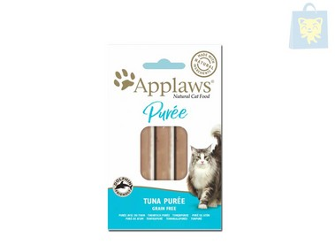 APPLAWS - SNACK PURE TUNA GRAIN FREE (8units x7g)