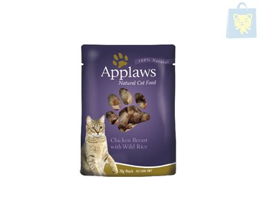 APPLAWS - CHICKEN BREAST AND WILD RICE (70g)