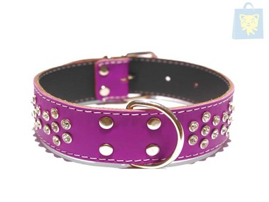CHACON - COLLAR STAND XL STRASS (Varias tallas y colores)