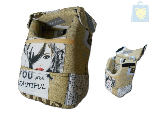 YAGU - BACKPACK STYLE Nº1 (20x14x26 cm) - OUTLET