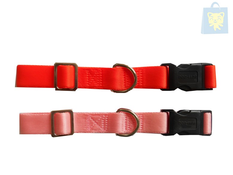 FUSSDOG - COLLAR AJUSTABLE NYLON (Varias tallas y colores)