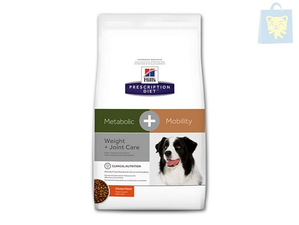 HILLS - PRESCRIPTION DIET - METABOLIC CANINE PLUS MOBILITY (4Kg y 12Kg)