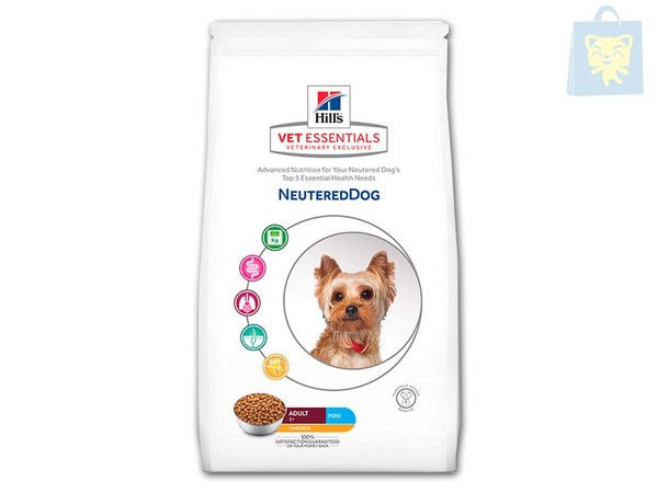 HILLS - VETESSENTIAL - ADULTO MINI NEUTERED CASTRADO (1,5Kg y 6Kg)