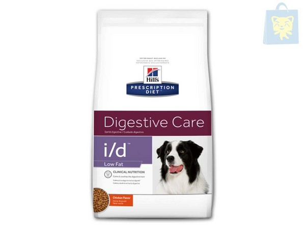 HILLS - PRESCRIPTION DIET - I/D CANINE LOW FAT (1,5Kg, 6Kg y 12Kg)