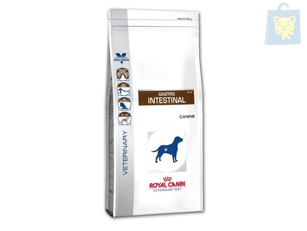 ROYAL CANIN-VETERINARY DIET - GASTRO INTESTINAL MODERATE CALORIE GIM23 (2Kg, 7,5Kg y 14Kg)