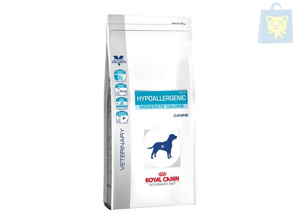 ROYAL CANIN-VETERINARY DIET - HYPOALLERGENIC MODERATE CALORIE HME23 (1,5Kg, 7Kg y 14Kg)