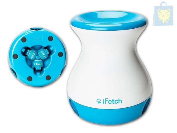 iFETCH - JUGUETE EDUCATIVO FETCH FRENZY LANZAPELOTAS AUTOMATICO