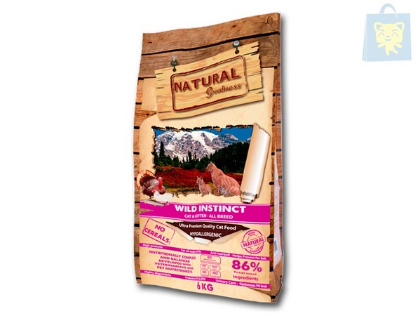 NATURAL GREATNESS - RECETA WILD INSTINCT (2Kg y 6Kg)