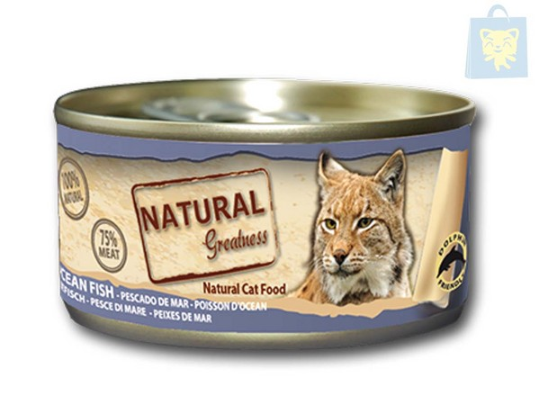 NATURAL GREATNESS - GATO PESCADO DE MAR (70g)