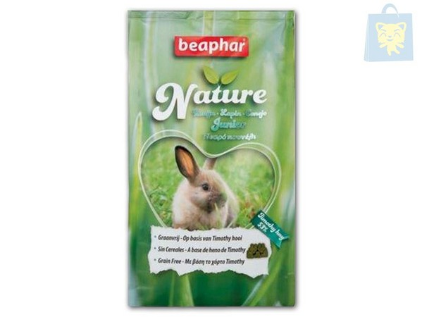 BEAPHAR - NATURE CONEJO JUNIOR (500g y 1250g)