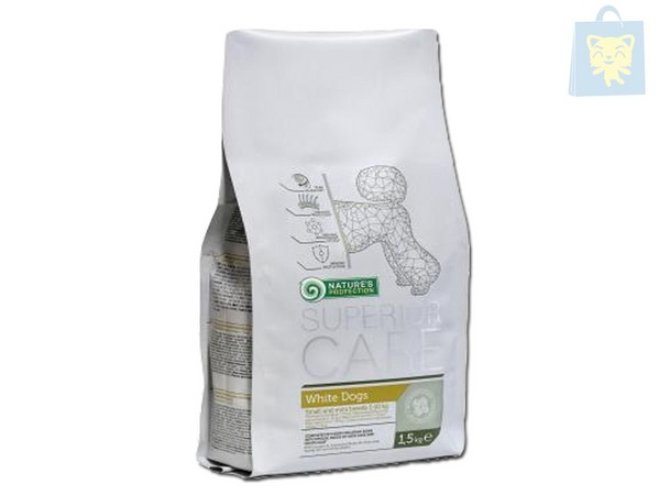 NATURE'S PROTECTION - SUPERIOR CARE - WHITE DOGS (400g y 1,5Kg)