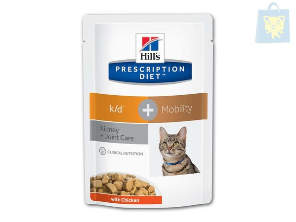 HILLS - PRESCRIPTION DIET - K/D FELINE PLUS MOBILITY (85g - 12Uds)