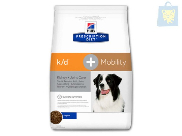 HILLS - PRESCRIPTION DIET - K/D CANINE PLUS MOBILITY (5Kg y 12Kg)