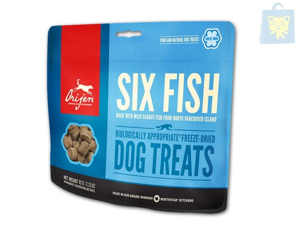 ORIJEN - TREATS SIX FISH (42,5g)