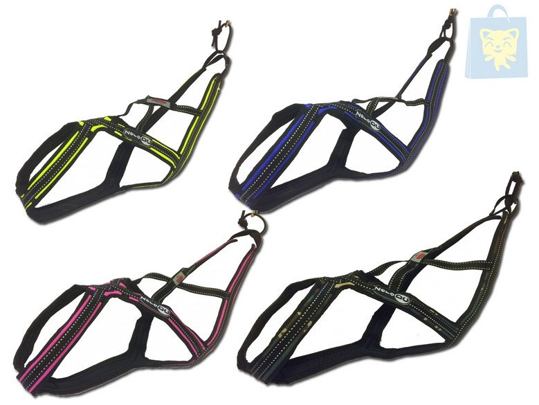 ZERO DC - CROSS SHOT HARNESS (Various sizes and colors)