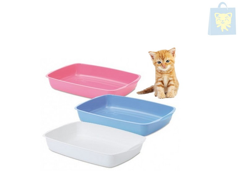 SAVIC - HYGIENIC TRAY FOR KITTENS (38x27x6cm)