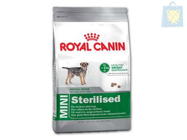 ROYAL CANIN-VETERINARY DIET - MINI STERILISED 1Kg - OUTLET