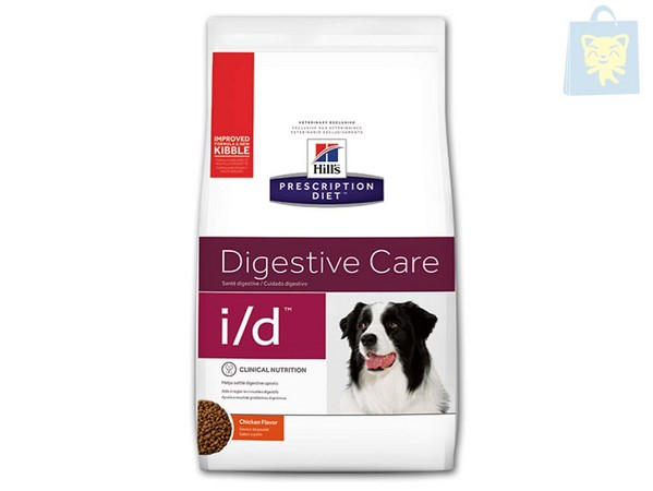 HILLS - PRESCRIPTION DIET - I/D CANINE (2Kg, 5Kg y 12Kg)