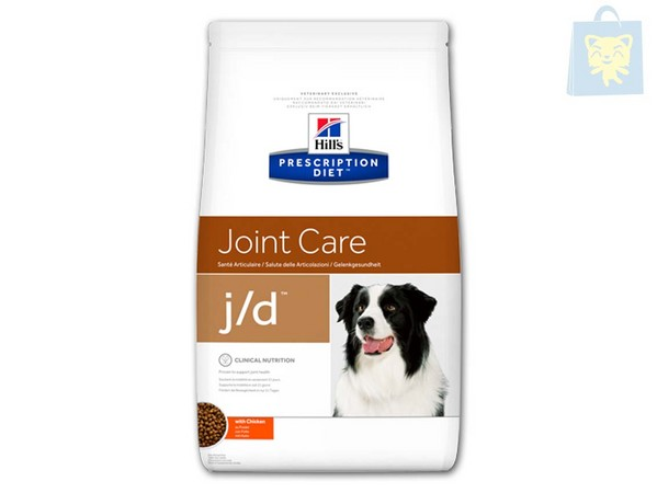 HILLS - PRESCRIPTION DIET - J/D CANINE (2Kg, 5Kg y 12Kg)