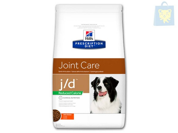 HILLS - PRESCRIPTION DIET - J/D CANINE REDUCED CALORIE (4Kg y 12Kg)