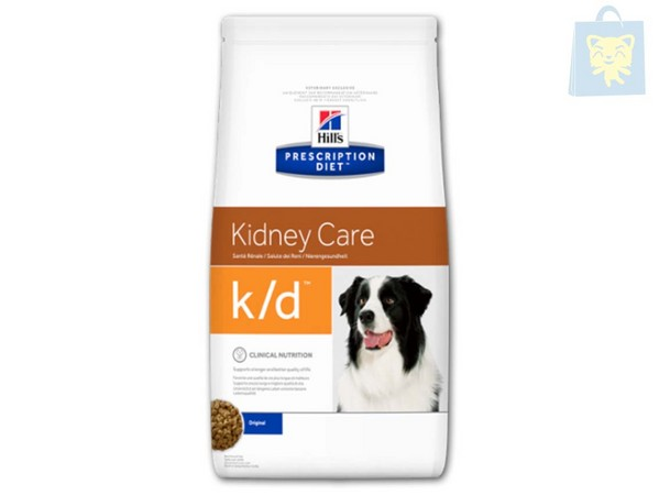 HILLS - PRESCRIPTION DIET - K/D CANINE (2Kg, 5Kg y 12Kg)