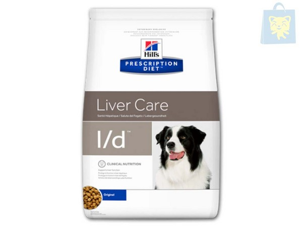 HILLS - PRESCRIPTION DIET - L/D CANINE (2Kg, 5Kg y 12Kg)