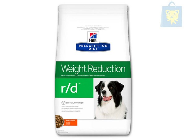 HILLS - PRESCRIPTION DIET - R/D CANINE (1,5Kg, 4Kg y 12Kg)