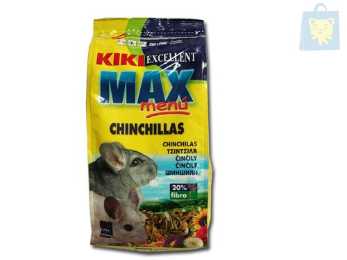 MAX MENU CHINCHILLA (0,8 Kg)