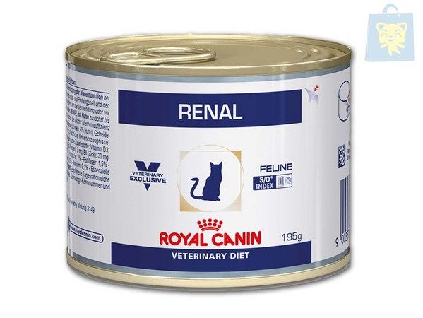 ROYAL CANIN-VETERINARY DIET - RENAL CON POLLO/ATUN/BUEY (12Uds - 85g y 195g)
