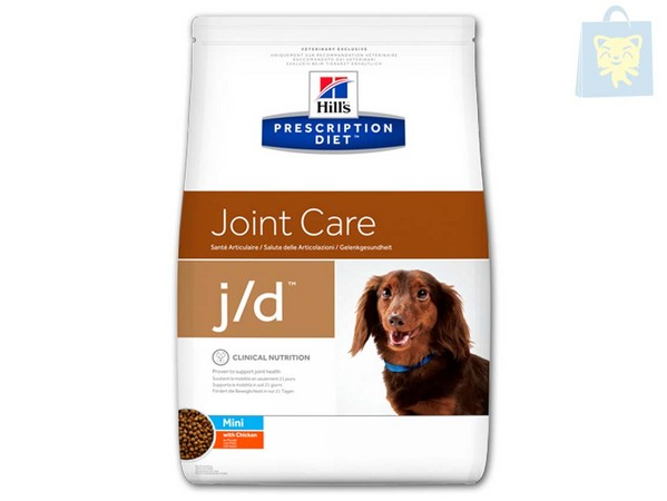 HILLS - PRESCRIPTION DIET - J/D CANINE MINI (2Kg y 5Kg)