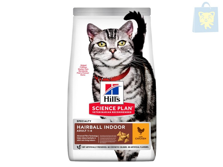 HILLS - SCIENCE PLAN - GATO ADULTO HAIRBALL CONTROL (1,5Kg y 5Kg)