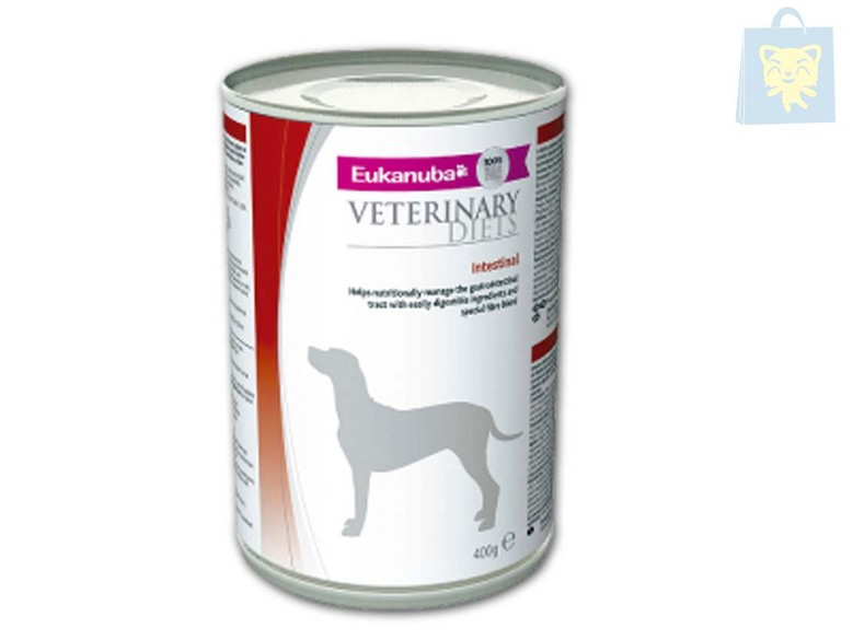 EUKANUBA-VETERINARY DIETS - INTESTINAL (400g - 6 ó 12Uds)