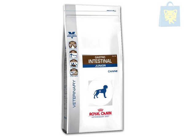 ROYAL CANIN-VETERINARY DIET - GASTRO INTESTINAL JUNIOR GIJ29 (2,5Kg y 10Kg)