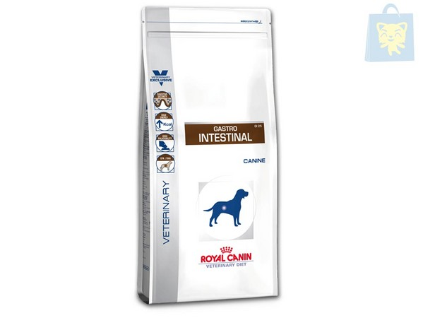 ROYAL CANIN-VETERINARY DIET - GASTRO INTESTINAL GI25 (2Kg, 7,5Kg y 14Kg)