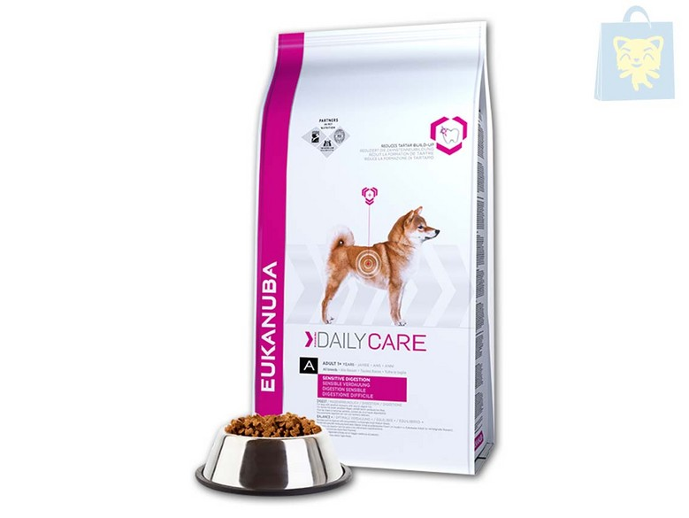 EUKANUBA-DAILY CARE - DAILY CARE SENSITIVE DIGESTION (2,5Kg y 12,5Kg)