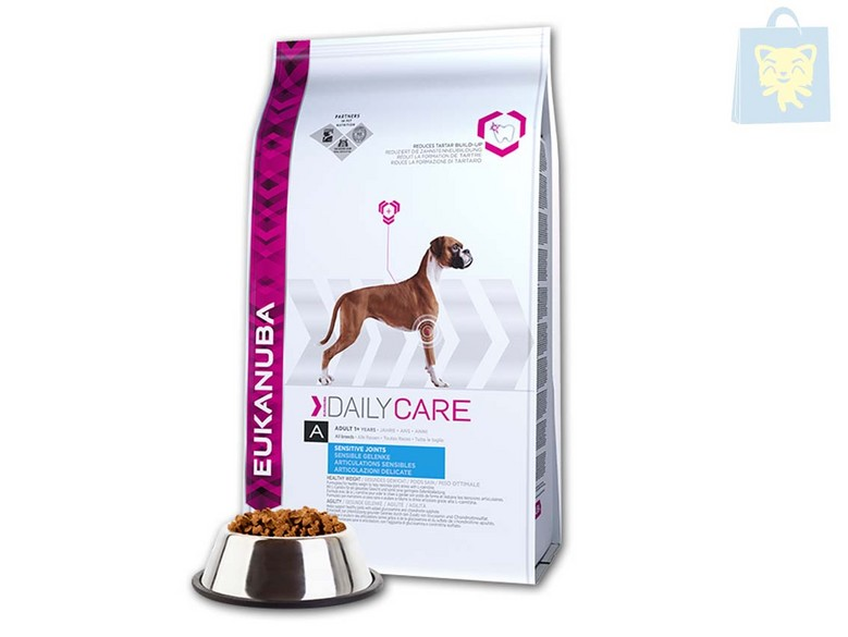 EUKANUBA-DAILY CARE - DAILY CARE SENSITIVE JOINTS (2,5Kg y 12,5Kg)
