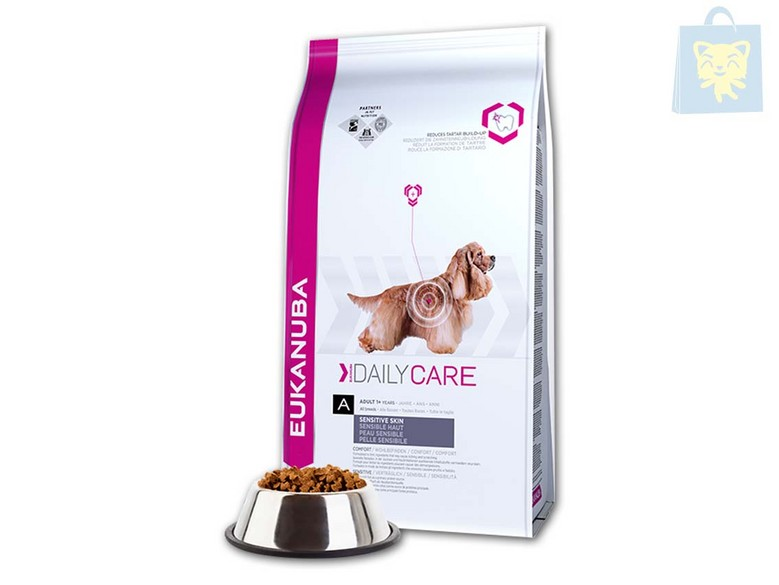 EUKANUBA-DAILY CARE - DAILY CARE SENSITIVE SKIN (2,3Kg y 12Kg)