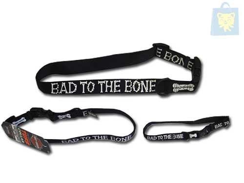 HARLEY DAVIDSON - COLLAR NYLON BAD TO THE BONE (20-30x1cm)