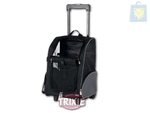 TRIXIE - BACKPACK WITH WHEELS NYLON (50x36x27 cm)