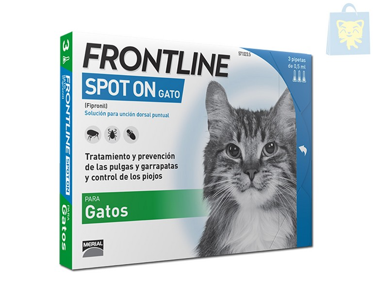 MERIAL - FRONTLINE CATS (1,3 and 6 pipettes)