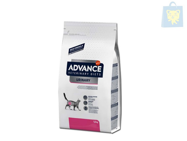 AFFINITY - ADVANCE VETERINARY DIETS - GATO URINARY (1,5Kg, 3Kg y 8Kg)