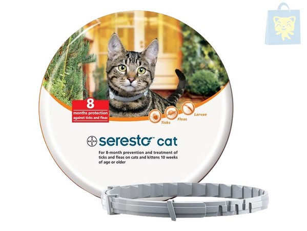BAYER - COLLAR SERESTO GATO ANTIPARASITOS (38cm)