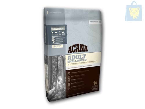 ACANA - HERITAGE - ADULT SMALL BREED (340g, 2Kg y 6Kg)